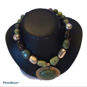 COPY - Jade green necklace
